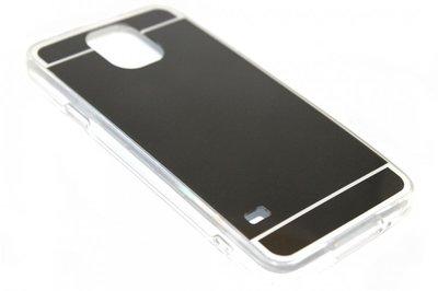 Spiegel hoesje zwart Samsung Galaxy S5 (Plus) / Neo