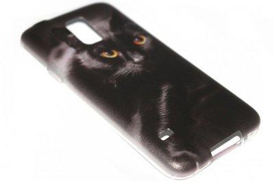 Katten hoesje Samsung Galaxy S5 (Plus) / Neo
