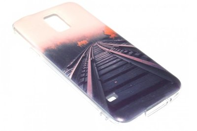 Treinspoor hoesje Samsung Galaxy S5 (Plus) / Neo