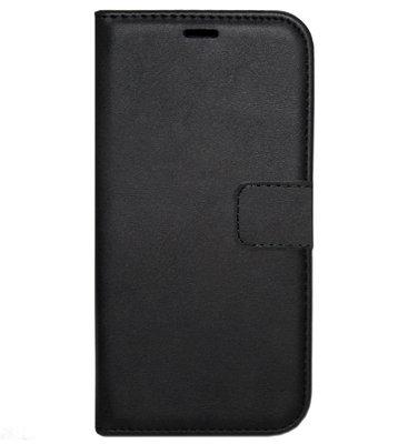ADEL Kunstleren Book Case Hoesje voor Samsung Galaxy A50(s)/ A30s - Zwart