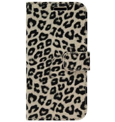 ADEL Kunstleren Book Case Portemonnee Pasjes Hoesje voor iPhone 11 Pro Max - Luipaard