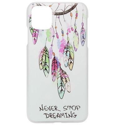 ADEL Kunststof Back Cover Hardcase Hoesje voor iPhone 11 Pro - Dromenvanger Kleur