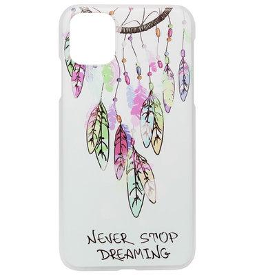 ADEL Kunststof Back Cover Hardcase Hoesje voor iPhone 11 - Dromenvanger Kleur