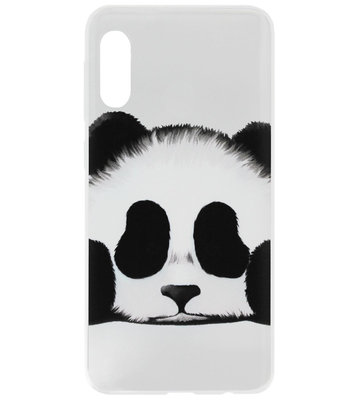ADEL Siliconen Back Cover Softcase Hoesje voor Samsung Galaxy A50(s)/ A30s - Panda