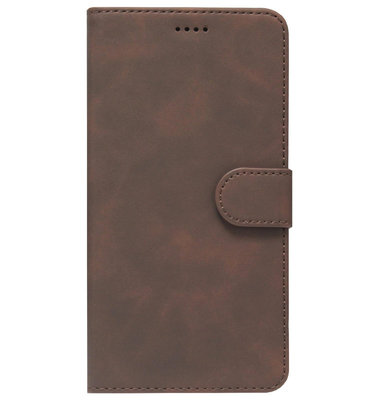 ADEL Kunstleren Book Case Portemonnee Pasjes Hoesje voor Samsung Galaxy A50(s)/ A30s - Bruin