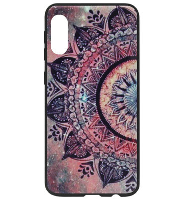 ADEL Siliconen Back Cover Softcase Hoesje voor Samsung Galaxy A70(s) - Mandala Bloemen