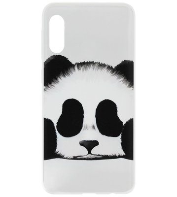 ADEL Siliconen Back Cover Softcase Hoesje voor Samsung Galaxy A70(s) - Panda