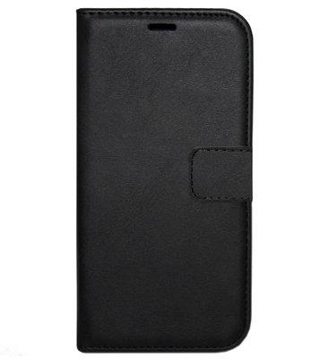 ADEL Kunstleren Book Case Portemonnee Pasjes Hoesje voor Samsung Galaxy M30 - Zwart