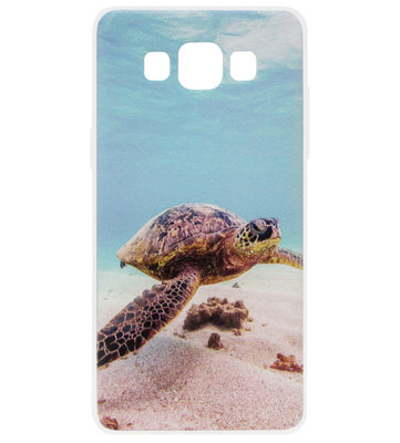 ADEL Siliconen Back Cover Softcase Hoesje voor Samsung Galaxy A5 (2015) - Schildpad