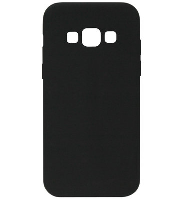 ADEL Siliconen Back Cover Softcase Hoesje voor Samsung Galaxy A5 (2015) - Zwart