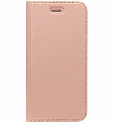 ADEL Premium Kunstleren Book Case Pasjes Magneetsluiting Hoesje voor Samsung Galaxy A5 (2015) - Rosegoud