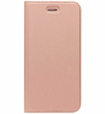 ADEL Premium Kunstleren Book Case Pasjes Magneetsluiting Hoesje voor Samsung Galaxy A3 (2016) - Rosegoud
