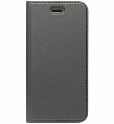 ADEL Premium Kunstleren Book Case Pasjes Magneetsluiting Hoesje voor Samsung Galaxy A3 (2016) - Zwart