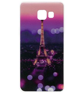 ADEL Siliconen Back Cover Softcase Hoesje voor Samsung Galaxy A5 (2017) - Parijs Eiffeltoren