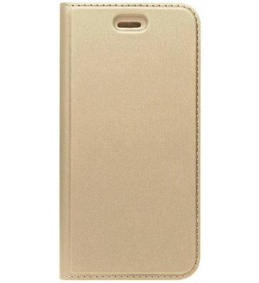 ADEL Premium Kunstleren Book Case Pasjes Magneetsluiting Hoesje voor Samsung Galaxy A5 (2017) - Goud