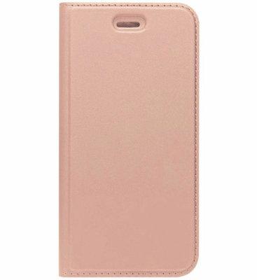 ADEL Premium Kunstleren Book Case Pasjes Magneetsluiting Hoesje voor Samsung Galaxy A5 (2017) - Rosegoud