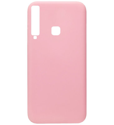 ADEL Siliconen Back Cover Softcase Hoesje voor Samsung Galaxy A9 (2018) - Roze