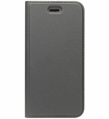 ADEL Premium Kunstleren Book Case Pasjes Hoesje voor Samsung Galaxy J3 (2015)/ J3 (2016) - Zwart