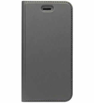 ADEL Premium Kunstleren Book Case Pasjes Hoesje voor Samsung Galaxy J7 (2017) - Zwart