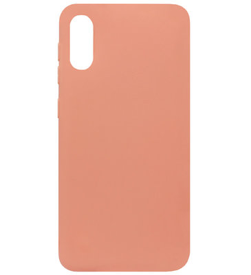 ADEL Siliconen Back Cover Softcase Hoesje voor Samsung Galaxy A50(s)/ A30s - Oranje