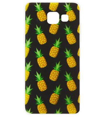 ADEL Siliconen Back Cover Softcase Hoesje voor Samsung Galaxy A5 (2017) - Ananas