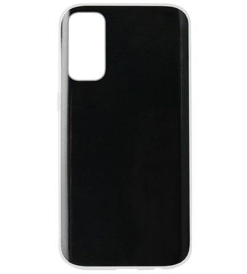 ADEL Siliconen Back Cover Softcase Hoesje voor Samsung Galaxy S20 - Doorzichtig