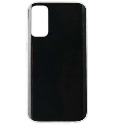 ADEL Siliconen Back Cover Softcase Hoesje voor Samsung Galaxy S20 Plus - Doorzichtig