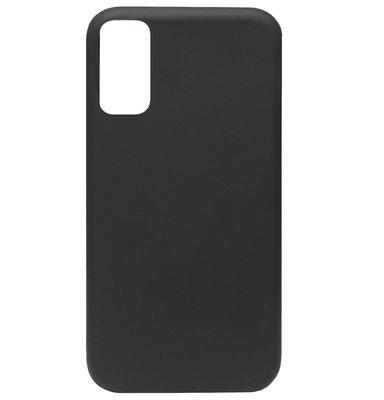 ADEL Premium Siliconen Back Cover Softcase Hoesje voor Samsung Galaxy S20 Plus - Zwart