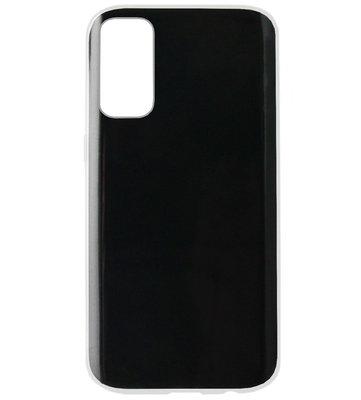 ADEL Siliconen Back Cover Softcase Hoesje voor Samsung Galaxy S20 Ultra - Doorzichtig