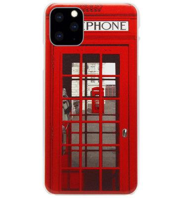 ADEL Kunststof Back Cover Hardcase Hoesje voor iPhone 11 Pro - Londen Telefooncel