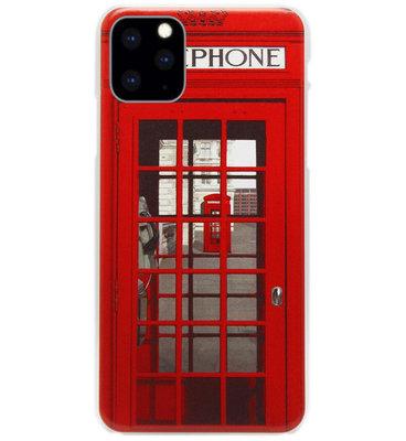 ADEL Kunststof Back Cover Hardcase Hoesje voor iPhone 11 Pro Max - Londen Telefooncel