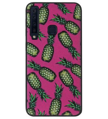 ADEL Siliconen Back Cover Softcase Hoesje voor Samsung Galaxy A9 (2018) - Ananas