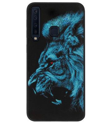 ADEL Siliconen Back Cover Softcase Hoesje voor Samsung Galaxy A9 (2018) - Leeuw