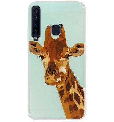 ADEL Siliconen Back Cover Softcase Hoesje voor Samsung Galaxy A9 (2018) - Giraffe