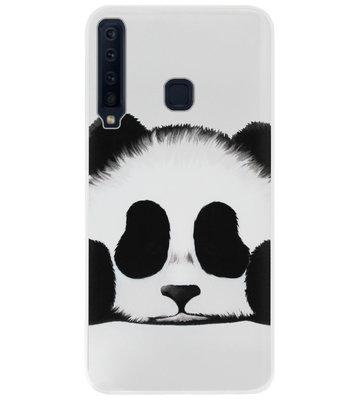ADEL Siliconen Back Cover Softcase Hoesje voor Samsung Galaxy A9 (2018) - Panda
