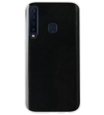 ADEL Siliconen Back Cover Softcase Hoesje voor Samsung Galaxy A9 (2018) - Doorzichtig Transparant