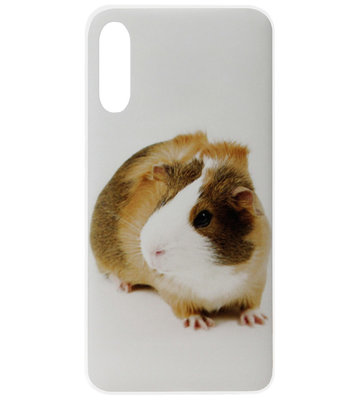 ADEL Siliconen Back Cover Softcase Hoesje voor Samsung Galaxy A50(S)/ A30S - Cavia