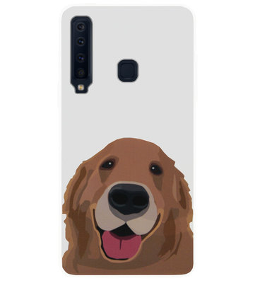 ADEL Siliconen Back Cover Softcase Hoesje voor Samsung Galaxy A9 (2018) - Labrador Hond