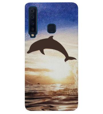 ADEL Siliconen Back Cover Softcase Hoesje voor Samsung Galaxy A9 (2018) - Dolfijn