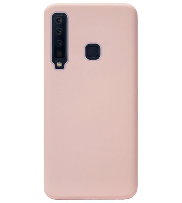 ADEL Premium Siliconen Back Cover Softcase Hoesje voor Samsung Galaxy A9 (2018) - Roze