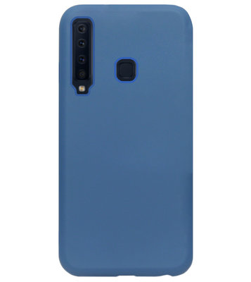 ADEL Premium Siliconen Back Cover Softcase Hoesje voor Samsung Galaxy A9 (2018) - Blauw