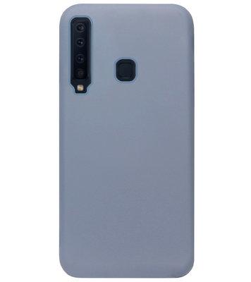 ADEL Premium Siliconen Back Cover Softcase Hoesje voor Samsung Galaxy A9 (2018) - Lavendel Blauw
