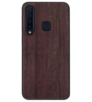 ADEL Siliconen Back Cover Softcase Hoesje voor Samsung Galaxy A9 (2018) - Houten Design