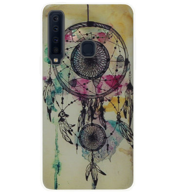 ADEL Siliconen Back Cover Softcase Hoesje voor Samsung Galaxy A9 (2018) - Dromenvanger
