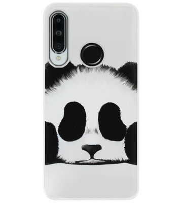 ADEL Siliconen Back Cover Softcase Hoesje voor Huawei P30 Lite - Panda