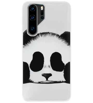 ADEL Siliconen Back Cover Softcase Hoesje voor Huawei P30 Pro - Panda