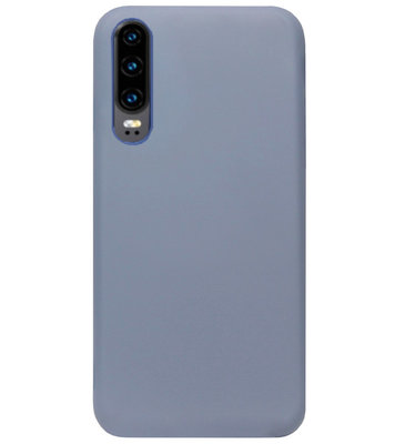 ADEL Premium Siliconen Back Cover Softcase Hoesje voor Huawei P30 - Lavendel