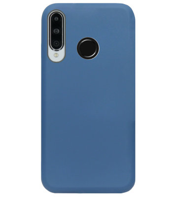 ADEL Premium Siliconen Back Cover Softcase Hoesje voor Huawei P30 Lite - Blauw
