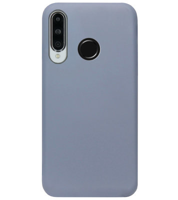 ADEL Premium Siliconen Back Cover Softcase Hoesje voor Huawei P30 Lite - Lavendel