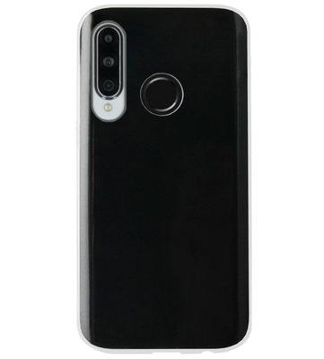 ADEL Siliconen Back Cover Softcase Hoesje voor Huawei P30 Lite - Doorzichtig Transparant